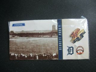 Bennett Park Detroit Tigers Lapel Pin In Package