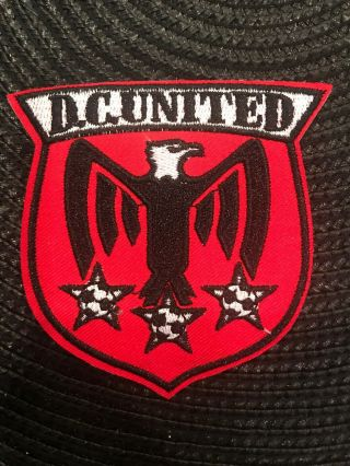 "D.  C.  United Mls Major League Soccer Vintage Iron On Embroidered Patch 3 "" X 3 """
