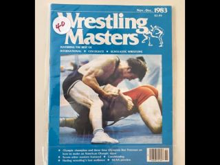 1983 Wrestling Masters Olympic Champion Ben Peterson 16