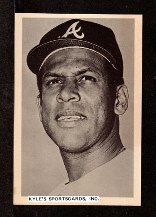 Orlando Cepeda Braves Unsigned 4 - 1/4 X 6 - 3/8 Team Issue Picture Pack Photo 18