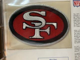 San Francisco 49ers - The Nfl Team Emblem Patch - 1995 - Awesome