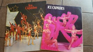 Vintage Set Of 2 Ice Capades Programs 1974 & 1978