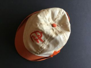 Rarely Seen 1960s Size L Baltimore Orioles Stadium Giveaway Hat (staining)
