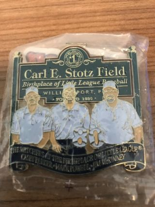 Little League Carl Stotz Field Pin