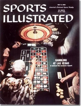 May 11,  1959 Gambling In Las Vegas Roulette Sports Illustrated