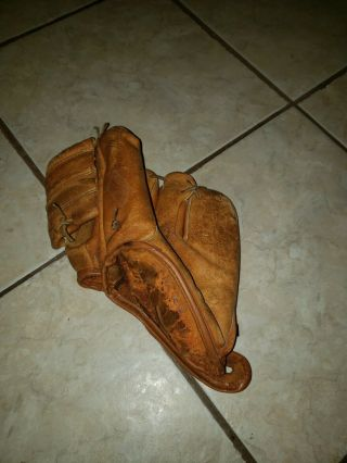 Vintage Baseball Gloves
