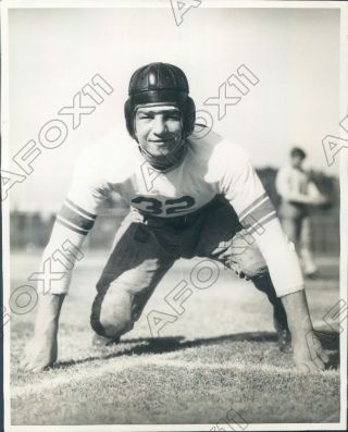 1934 Stanford Cardinal Football Player Tackle Ed Lettunich