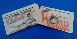 Vintage Newspapers,  Baltimore Orioles,  The News American,  1979 Souvenir Editions