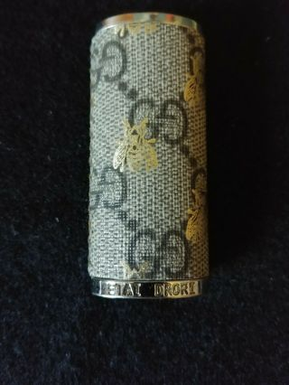 Gucci Etai Drori Bee Sleeve Lighter Case Rare