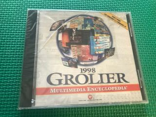 Grolier Multimedia Encyclopedia 1998 Windows 3.  1/95 Ms - Dos 5.  0