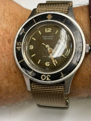 Blancpain Fifty Fathoms Aqua Lung Vintage 100 Collector Piece
