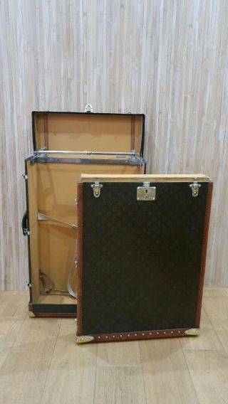 Louis Vuitton Wardrobe Trunk Antique Trunk