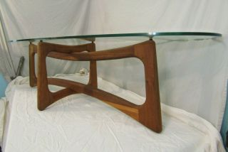 Rare Mid - Century Modern Coffee Table By Lane Vintage Exquisite Wood And Style