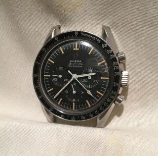 Rare Mens Omega Speedmaster Vintage Chronograph Watch Cal 321 105012 - 66 Pre Moon