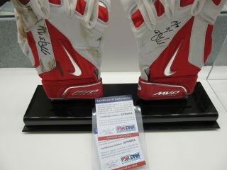 Mike Trout Signed / Autographed Game Batting Gloves Psa/dna 2014 Mvp Auto