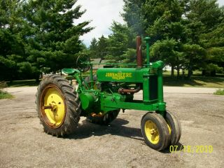 1937 John Deere Unstyled A Antique Tractor A B G H D M