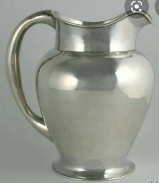 Kalo Hand Wrought Sterling Silver Pitcher