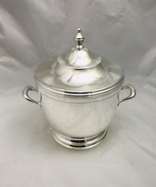 Authentic Tiffany Sterling Silver Wine Cooler/ice Bucket