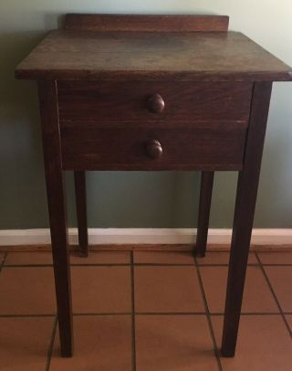 Gustav Stickley Night Stand End Table