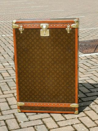Louis Vuitton Wardrobe Trunk Antique Trunk As Seen On Lv Exhibition In Milan