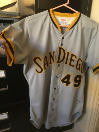 San Diego Padres Game Jersey 1974 42.  Ues To Have Freisleben On Back