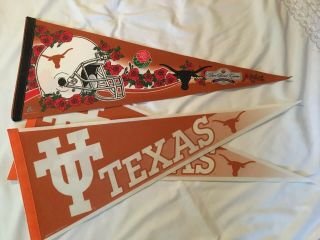 Texas Longhorns 2006 Rose Bowl Game Champions College Football Pennants