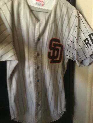 San Diego Padres Game Jersey 1985.  4