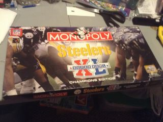 Steelers Superbowl Xl Monopoly Game Champions Edition 100 Complete