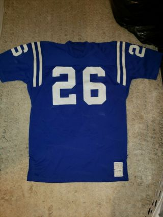 Lydell Mitchell Baltimore Colts Pro Cut Team Issued Sand Knit Jersey