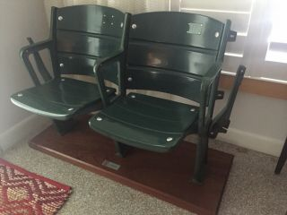 Authentic Fenway Park Seats Vintage Fenway Seats - Certified By Mlb