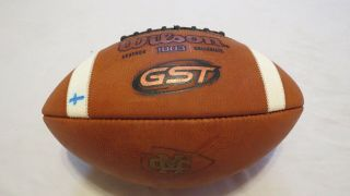 2018 Game Wilson Gst 1003 Mississippi College Choctaws College Football