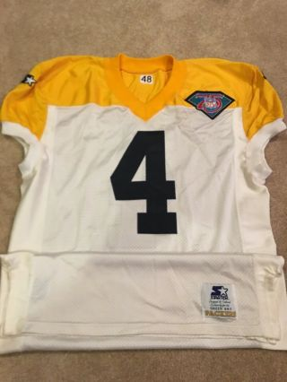 Rare Team Issued 1994 Green Bay Packers Starter Jersey Ripon,  Wi Favre Size 48