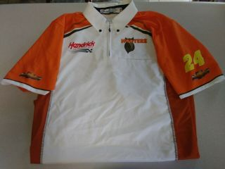 Chase Elliott Hooters Team Issued Race Crew Shirt Size Medium Rare