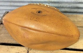 Vtg 40s Wwii Hutch G - 5 Us Military Issued Leather Football Cincinnati Oh Rare