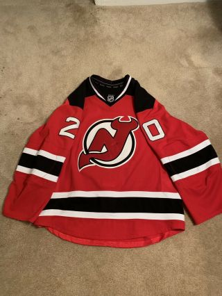 Jordin Tootoo Jersey Devils 2014/15 Red Set 2 Game Worn Jersey Autographed