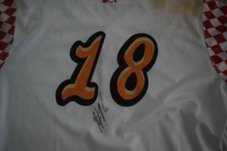 Heliot Ramos Game Richmond Hush Puppies Jersey Auto Signed 1st Aa Hr