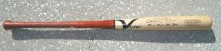 Astros Carlos Correa 2016 Signed Game Issued Victus Baseball Bat