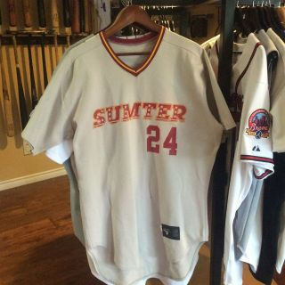 1991 Sumter Flyers (expos) Game Worn/used/issued Jersey