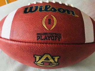 Game Issued Game Auburn Tigers Wilson Cfp Football