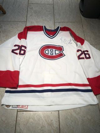 1994 - 95 Montreal Canadiens Game Worn Hockey Jersey