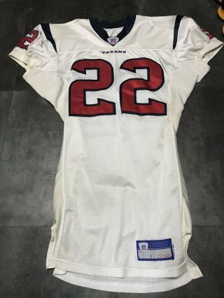 Jason Simmons Game Worn/issued Texans Jersey 2007