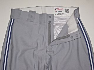 Jose Bautista Player Worn Pants Mlb Majestic Authentic Toronto Blue Jays