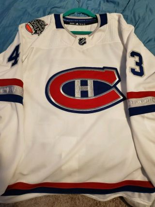 Montreal Canadiens Nhl 100 Classic Game Jersey