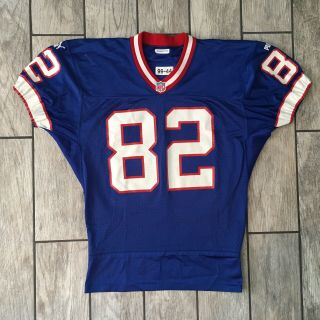 1999 Puma Buffalo Bills Game Worn Jersey Kevin Williams Wr Sz.  44 Nfl