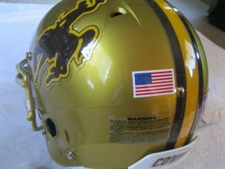 Schutt Wyoming Cowboys,  M.  W.  Heavy Duty,  Ncaa College Football Game Helmet