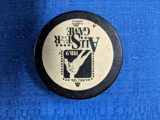 Nhl All - Star Game Puck 1982 Capital Center Washington Capitals Viceroy V4 Slug