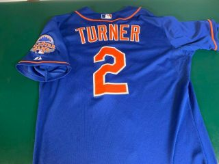 Justin Turner Mets Game Worn Jersey - All Star Patch - Dodgers