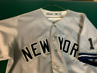 Vintage York Yankees Game Garcia Road Jersey - Number 1 Patch