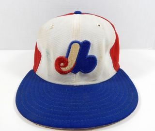 Mid 1980s Montreal Expos Andre Dawson Signed 10 Game Blue Hat Miedema Loa