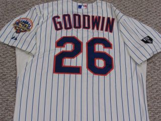 Goodwin Size 46 26 2012 Mets Game Jersey Issued Home Cream Mlb Holo 2 Patch
